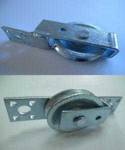 單孔滑輪/ 雙孔滑輪