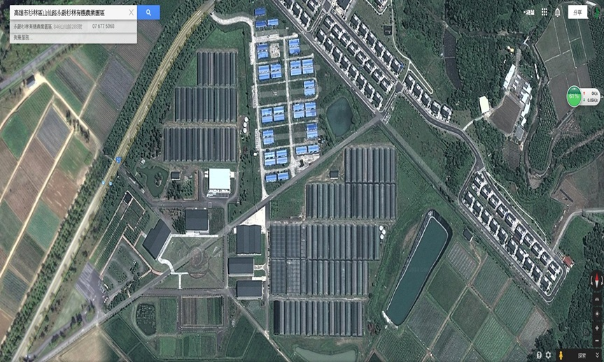 永齡有機農場-空照圖